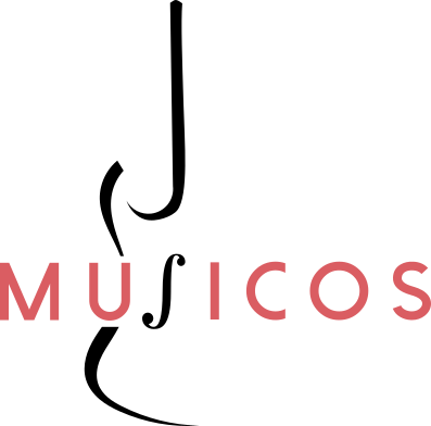 Logo of Musicos Productions intended for lighter backgrounds
