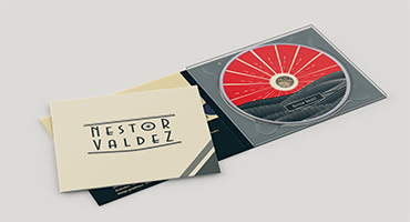 Design and cover art for Nestor Valdez' latest album. Created by Musicos Productions